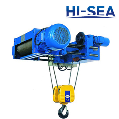 European Type Low Headroom Electric Wire rope Hoist