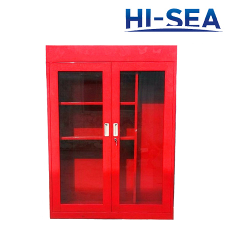 FRP Firefighting Cabinet with Glass Door