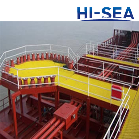 FRP GRP Fiberglass Ship Deck Grating