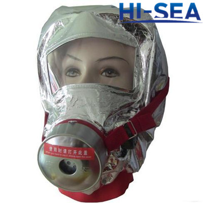 Fire Escape Gas Hood Fire Fighter Mask