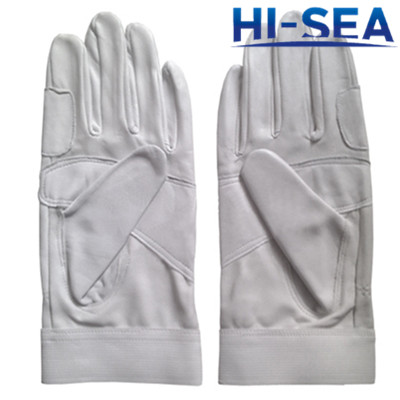 Fire Fighting Leather Gloves