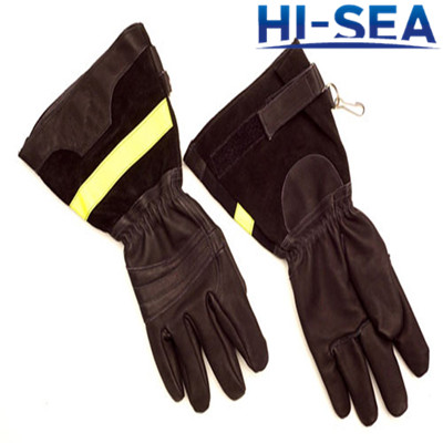 Fire Resistant Fireman Gloves