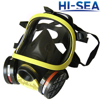 Firefighting Full Face  Gas Mask