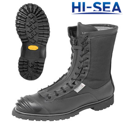 Flame Resistant Leather Firefighting Boots