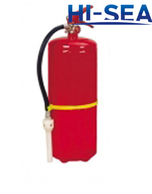 Foam fire extinguisher with CE approval