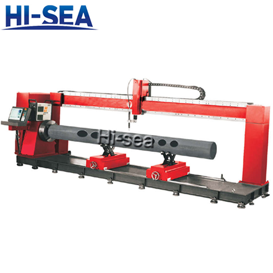 Gantry Style CNC Intersecting Pipe Cutting Machine
