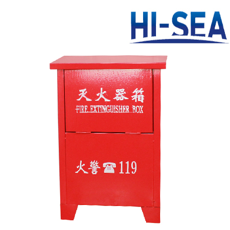 Ground-mounted FRP Fire Extinguisher Box