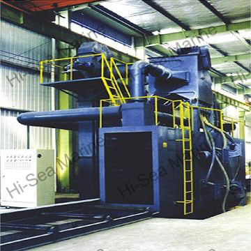 H-Beam Shot Blasting Equipment