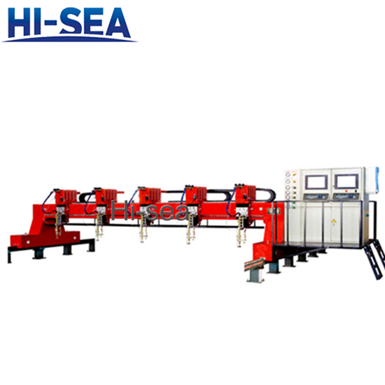 H Series CNC Flame Precision Rack Cutting Machine