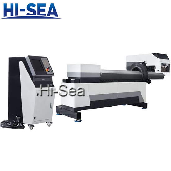 H Series Combined Style CNC Intersecting Pipe Cutting Machine