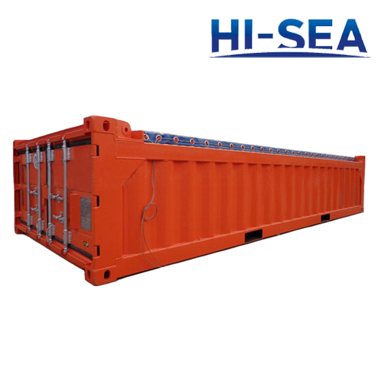 Half Height Offshore Container