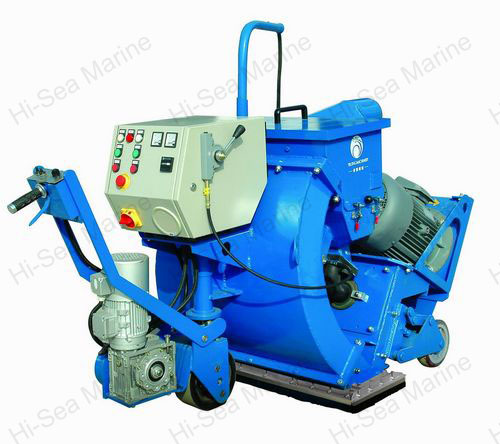 Horizontal Movable Shot Blasting Machine