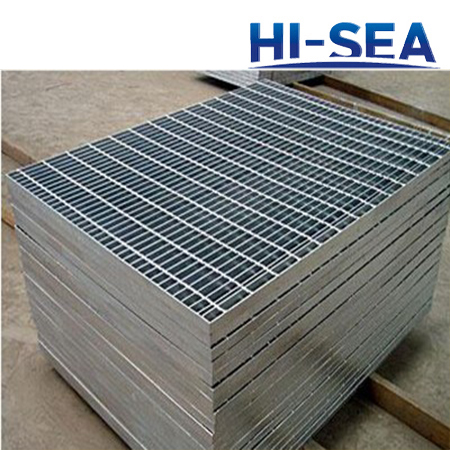 Hot Dip Galvanized Marine Steel Grating