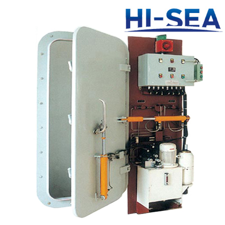 Hydraulic Hinged Watertight Door