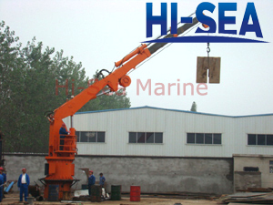 Hydraulic Knuckle/Telescopic Crane
