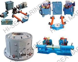 Oscillating hydraulic type steering gear