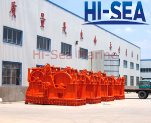 Hydraulic Waterfall Mooring Winch Made in China