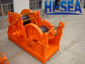 Hydraulic Waterfall Mooring Winch