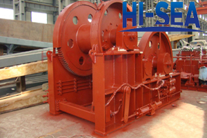Hydraulic Waterfall Winch for Marine