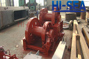 Hydraulic Waterfall Winch