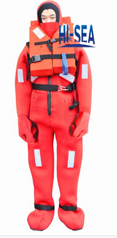 Immersion Suit With Life Jacket