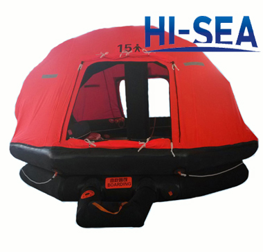 Inflatable Life Raft For 15 Persons