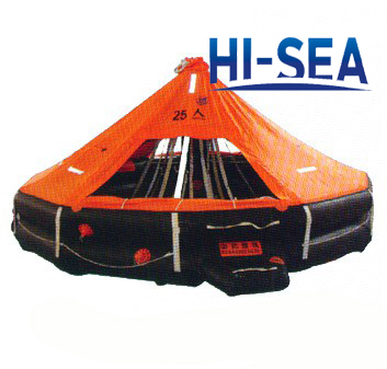 Inflatable Life Raft For 25 Persons