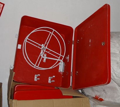 FRP Fire Hose Box with Hose Reel Mounting Bracket
