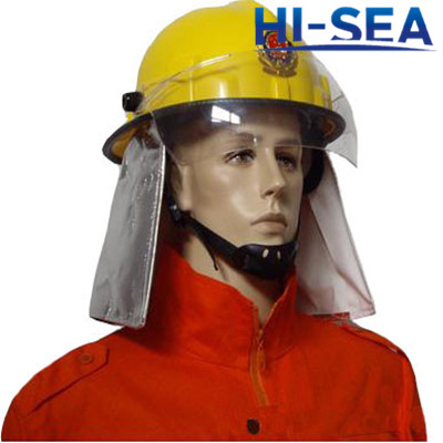 Korea Type Plastic Fire Helmet