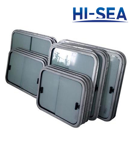 Light Aluminum Marine Sliding Window