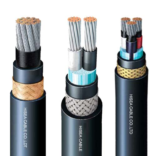 Flame Retardant Halogen free Marine Power Cable 0.6/1KV