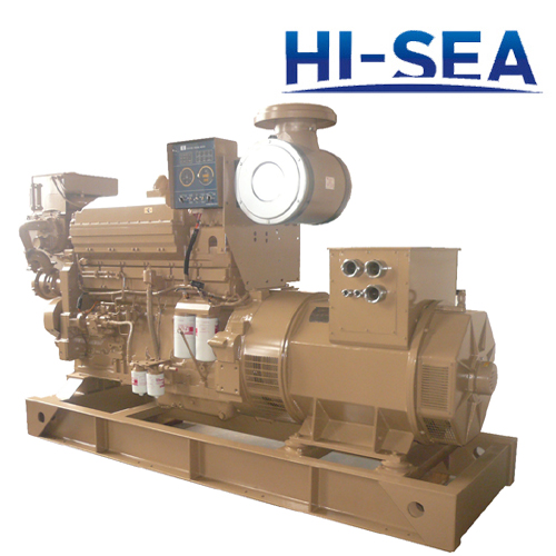 Marine 300KW Cummins Diesel Generating Set