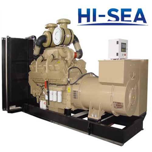 Marine 600KW Cummins Diesel Generating Set