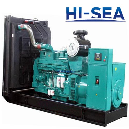 Marine 700KW Cummins Diesel Engine Generator Set