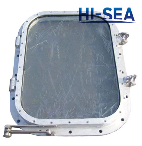 Marine A0 Fireproof Rectangular Window