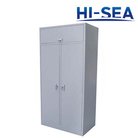 Marine Aluminum Double-door Wardrobe