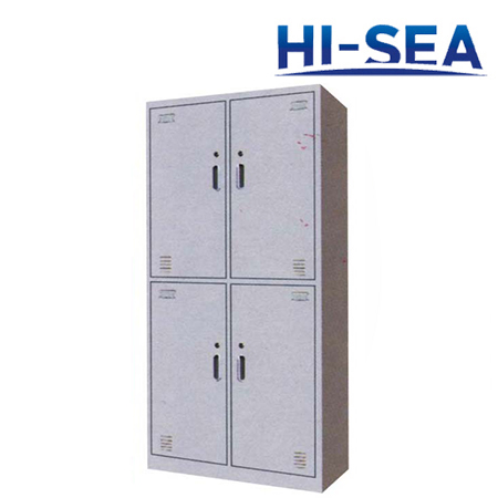 Marine Aluminum Four-door Wardrobe