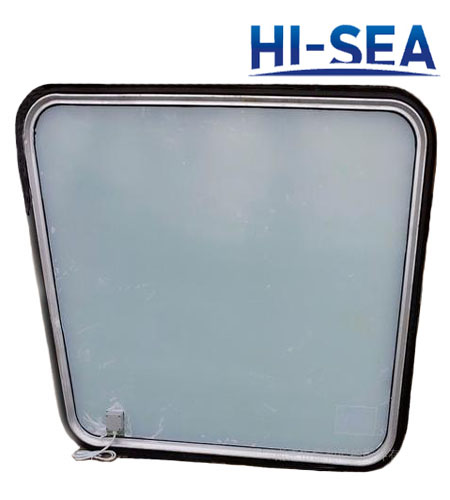 Marine Aluminum Rectangular Window with Electrical Heating Glass