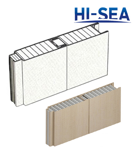 Type A Aluminum Sheet Composite Aluminum Honeycomb Wall Panel
