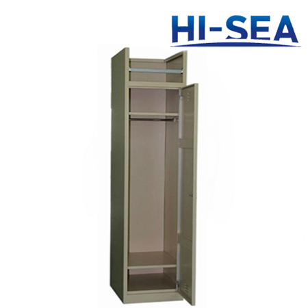 Marine Aluminum Single Wardrobe
