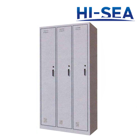 Marine Aluminum Three-door Wardrobe