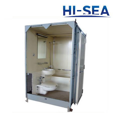 Marine Bathroom Unit With Toilet