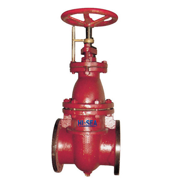Marine Cast Iron Gate Valve CBM1091-81