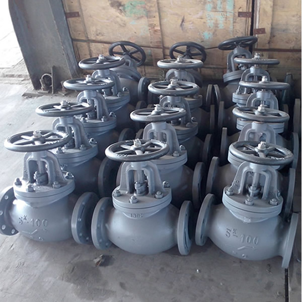 Marine Cast Iron Screw Down Check Globe Valve JIS F7353 5K