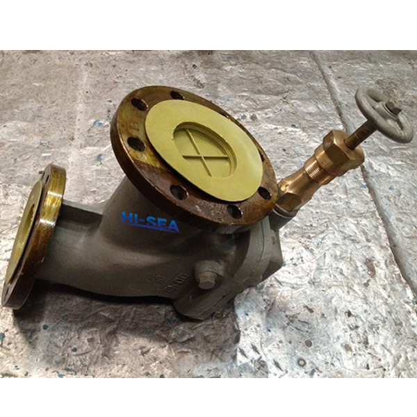 Marine Cast Steel Screw Down Vertical Storm Valve CB/T 3477-92 Type B/BS
