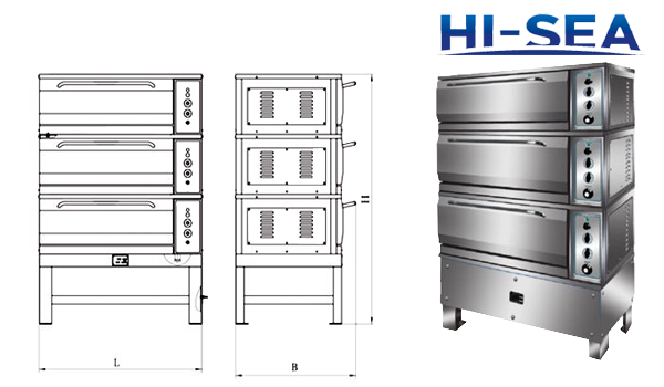 Marine Commercial Electric Oven Supplier China Marine