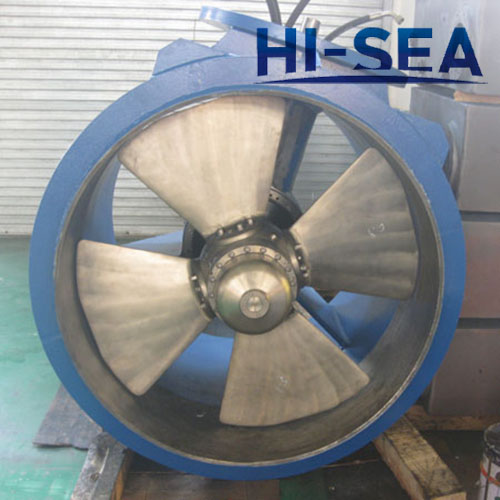 Controllable Pitch Propeller Bow Thruster