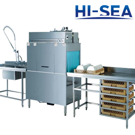 Marine Conveyor Dishwasher
