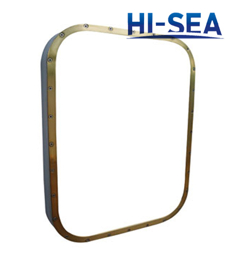Marine Copper Fixed Rectangular Window