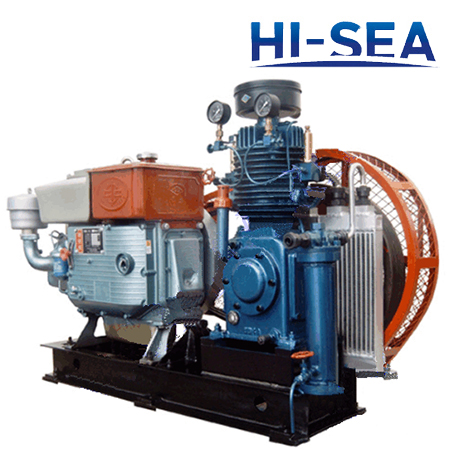 Marine Emergency Air Compressor
